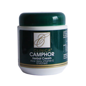 Camphor Cream with Aloe Vera & Vit E Tub - 500g