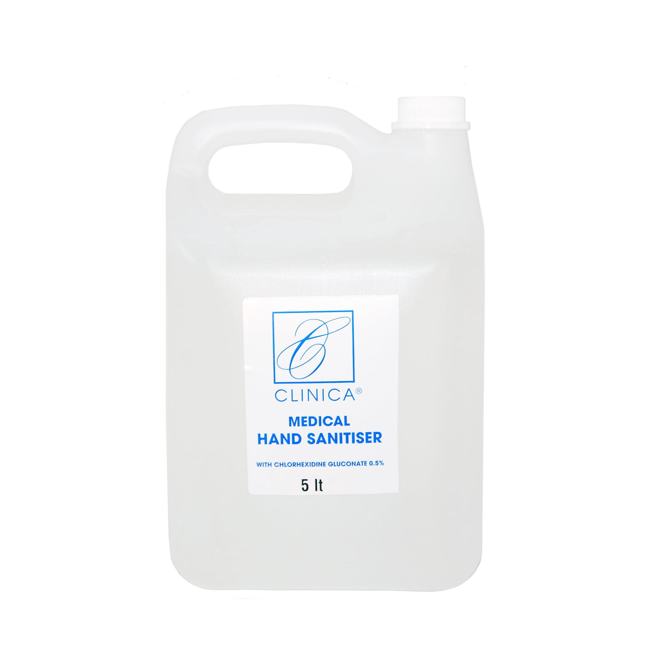 Clinica Medical Hand Sanitizer Gel - 5 lt